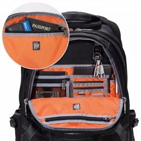 Everki EKP133B Concept 2 Tas Ransel Laptop Premium Travel Backpack 17.3 Inch - Black - 8