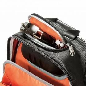 Everki EKP133B Concept 2 Tas Ransel Laptop Premium Travel Backpack 17.3 Inch - Black - 9