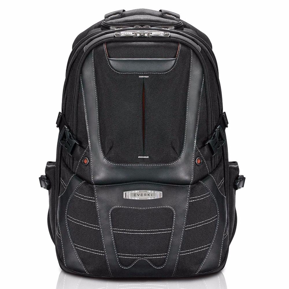 ... Everki EKP133B Concept 2 Tas Ransel Laptop Premium Travel Backpack 17.3 Inch - Black - 1 ...