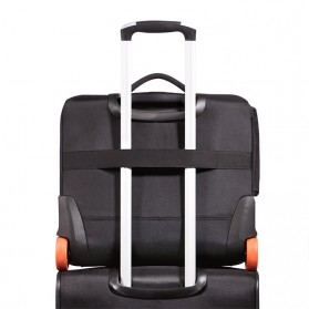 Everki EKB440 - Journey Laptop Trolley - Rolling Briefcase 11-Inch to 16-Inch Adaptable Compartment - Black - 3