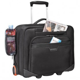 Everki EKB440 - Journey Laptop Trolley - Rolling Briefcase 11-Inch to 16-Inch Adaptable Compartment - Black - 4