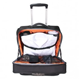 Everki EKB440 - Journey Laptop Trolley - Rolling Briefcase 11-Inch to 16-Inch Adaptable Compartment - Black - 5