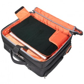 Everki EKB440 - Journey Laptop Trolley - Rolling Briefcase 11-Inch to 16-Inch Adaptable Compartment - Black - 7