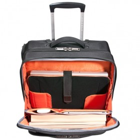 Everki EKB440 - Journey Laptop Trolley - Rolling Briefcase 11-Inch to 16-Inch Adaptable Compartment - Black - 8