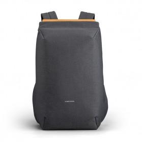 KINGSONS Tas Ransel Anti Maling Backpack with USB Charger Port - KS3207W - Dark Gray