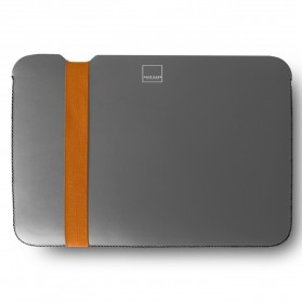 Acme Made The Skinny Sleeve MacBook Air 11 Inch - A - Grey/Orange