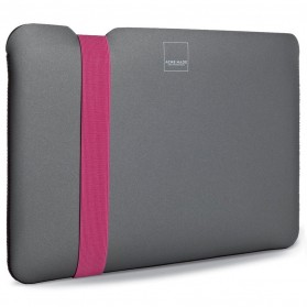 Acme Made The Skinny Sleeve MacBook Air 11 Inch - B - Gray/Pink