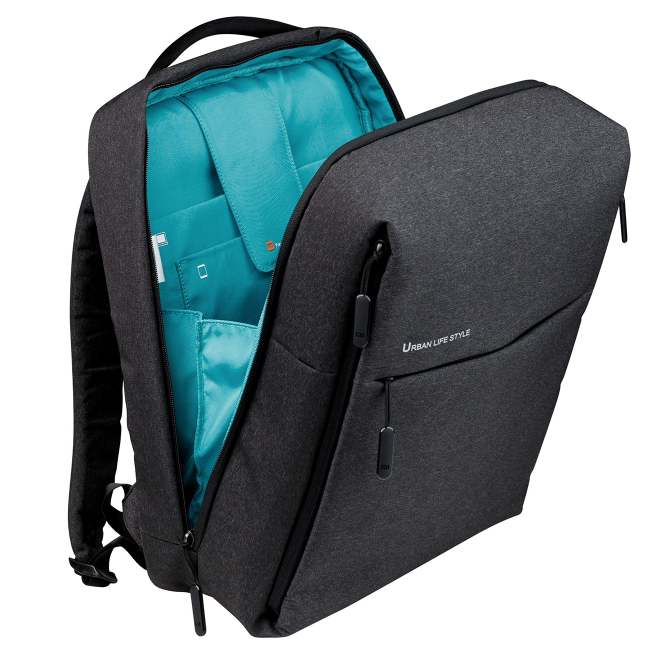 Xiaomi Tas Laptop Ransel Minimalis Dark Gray