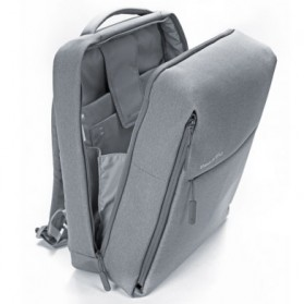 Xiaomi Tas Laptop Ransel Minimalis - Light Gray - 3