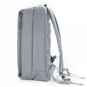 Xiaomi Tas Laptop Ransel Minimalis - Light Gray - 4