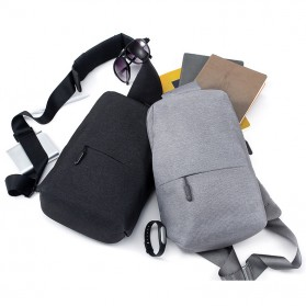 Xiaomi Tas Selempang Crossbody Bag Urban Style (ORIGINAL) - Light Gray - 6