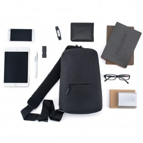 Xiaomi Tas Selempang Urban Style (ORIGINAL) - Light Gray - 7
