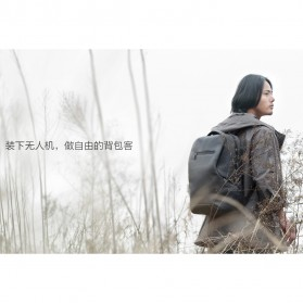 Xiaomi Millet Business Tas Ransel Multifungsi - Black - 5