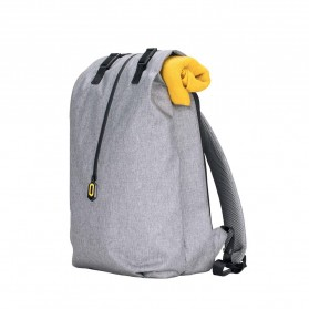 Xiaomi 90 Point Tas Ransel Laptop Rolltop Casual - Gray - 3