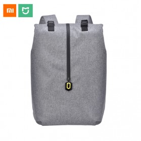 Xiaomi 90 Point Tas Ransel Laptop Rolltop Casual - Gray - 4