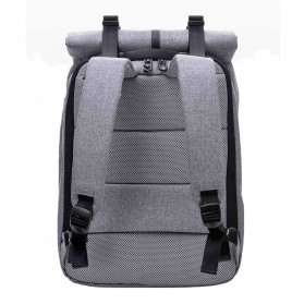 Xiaomi 90 Point Tas Ransel Laptop Rolltop Casual - Gray - 5