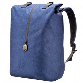 Xiaomi 90 Point Tas Ransel Laptop Rolltop Casual - Blue