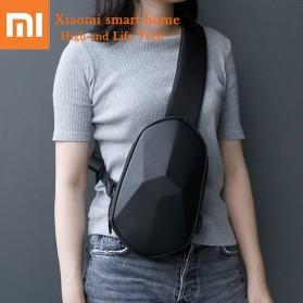 Xiaomi BEABORN Tajezzo Tas Selempang Sling Bag + USB Charger Port - 0201 - Black - 3
