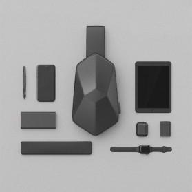 Xiaomi BEABORN Tajezzo Tas Selempang Sling Bag + USB Charger Port - 0201 - Black - 5