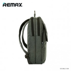 Remax Fashion Notebook Bags - Double 504 - Gray - 2