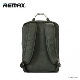 Remax Fashion Notebook Bags - Double 504 - Gray - 3