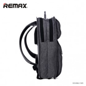 Remax Tas Laptop Fashion - Double 505 - Gray - 2