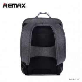 Remax Tas Laptop Fashion - Double 505 - Gray - 3