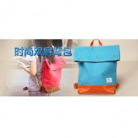 Remax Tas Sekolah Fashion - Double 207 - Blue - 3