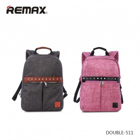 Remax Fashion Notebook Bags - Double 511 - Gray - 2