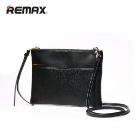 Remax Clutch Bag Fashion - Single 218 - Black - 2