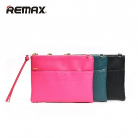 Remax Clutch Bag Fashion - Single 218 - Black - 3