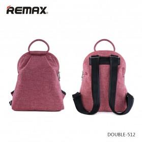 Remax Tas Laptop Fashion - Double 512 - Pink