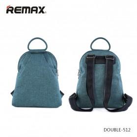 Remax Tas Laptop Fashion - Double 512 - Blue