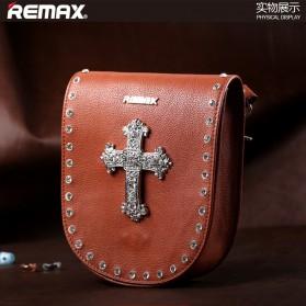 Remax Fashion Bags Diamond Style - Single 216 - Coffee - 1