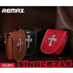 Remax Fashion Bags Diamond Style - Single 216 - Coffee - 3