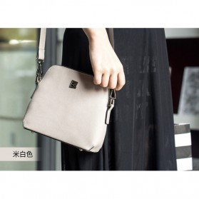 Remax Tas Selempang Wanita Fashion Bags - Single 602 - White