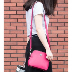 Remax Tas Selempang Wanita Fashion Bags - Single 602 - Red - 2