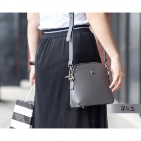 Remax Tas Selempang Wanita Fashion Bags - Single 602 - Dark Gray - 1
