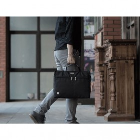 REMAX Tas Selempang Jinjing Notebook - 304 - Black - 6