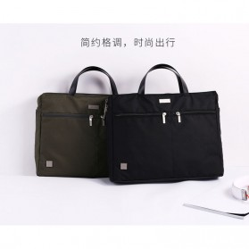 REMAX Tas Selempang Jinjing Notebook - 304 - Black - 7