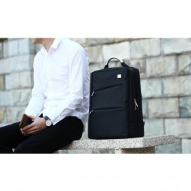 Remax Tas Laptop Ransel / Jinjing - 565 - Black - 4