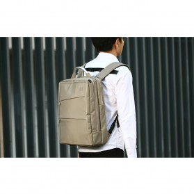 Remax Tas Laptop Ransel / Jinjing - 565 - Black - 5