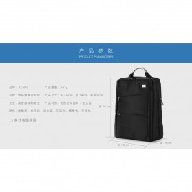 Remax Tas Laptop Ransel / Jinjing - 565 - Black - 6