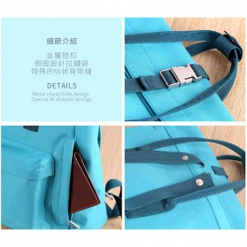 Remax Fashion Notebook Bags - Double 606 - Lake Blue - 5