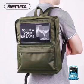 Remax Tas Laptop - Double 607 - Deep Green - 2