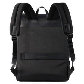Remax Tas Ransel Laptop Elegan - Double 617 - Black - 2