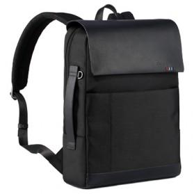 Remax Tas Ransel Laptop Elegan - Double 617 - Black - 3