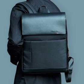 Remax Tas Ransel Laptop Elegan - Double 617 - Black - 4