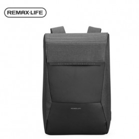 Remax Tas Laptop Ransel Backpack Fashion with USB Charger Port - RL-SC05 - Deep Gray