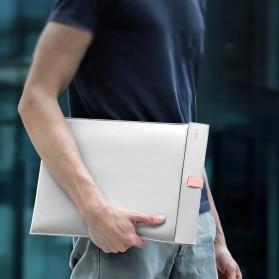Baseus Sleeve Case Kulit Laptop 16 Inch - LBQY-BGY - White - 2